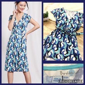 Boden Dresses - Boden Summer Wrap Dress WW012 0338040ba